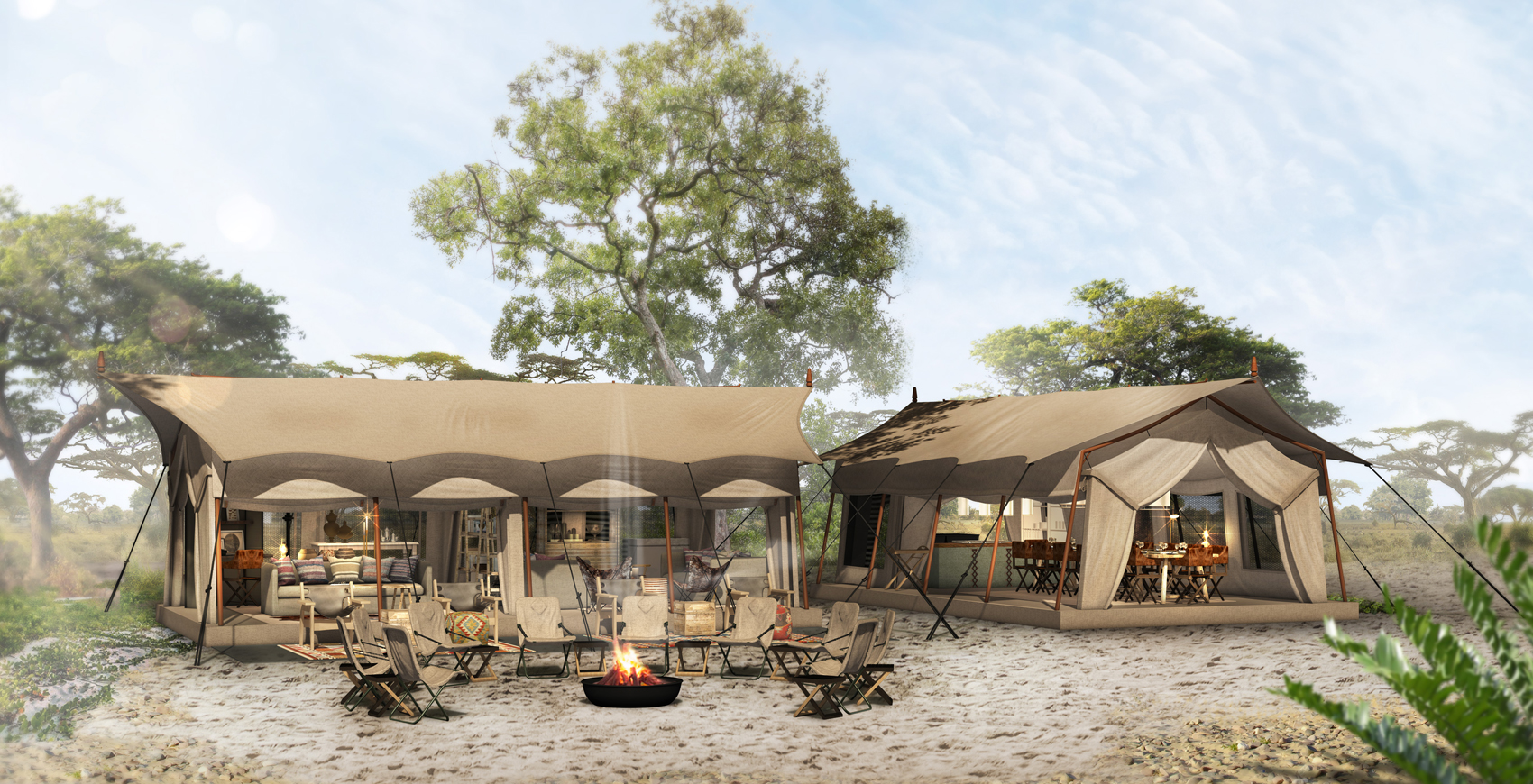 New-camp_Linyanti-Expeditions
