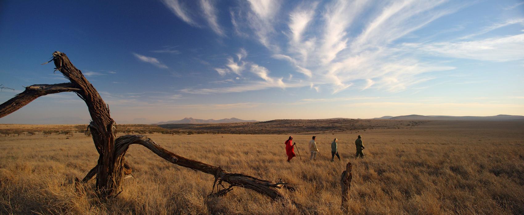 Elewana_Lewa_Safari_Camp-Guided_walking_safaris